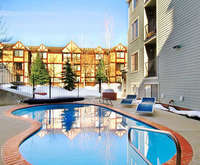 Outdoor Swimming Pool of Carriage House Condominiums