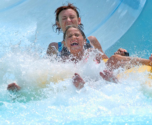 Oceans of Fun Waterpark Kansas...
