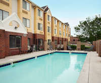 Outdoor Swimming Pool of Super 8 Overland Park Kc Area Near Convention Cent