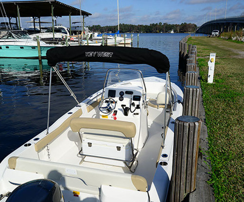Center Console Sport Boat Rental in Jacksonville, Florida