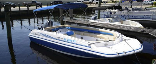 Deck Boat Rental in Jacksonville, FL