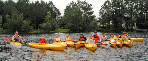 Group Kayaking Lesson in Jacksonville, FL