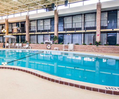 Quality Inn Conference Center - Jacksonville FL Indoor Swimming Pool