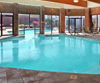 Outdoor Pool at Doubletree Hotel Cleveland South