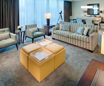 Fairmont Pittsburgh Room Photos