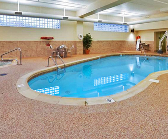 Hampton Inn Pittsburgh McKnight Road Indoor Swimming Pool