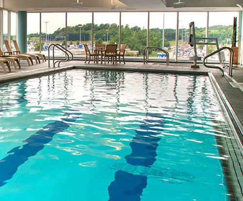 Hyatt Regency Pittsburgh Intl Airport Indoor Swimming Pool