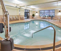 Hampton Inn Pittsburgh-Mcknight Rd. Indoor Swimming Pool