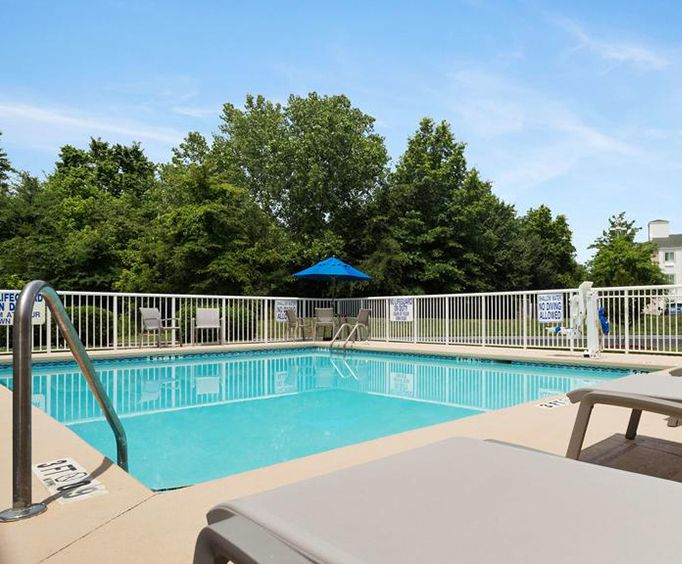 Outdoor Swimming Pool of Best Western Carowinds