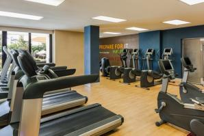 Fitness Center at Sheraton Norfolk Waterside - Norfolk VA