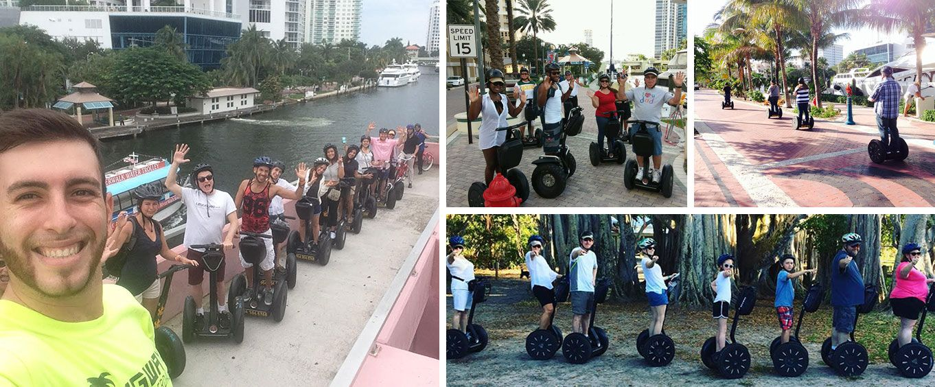 Fort Lauderdale Segway Tours Collage