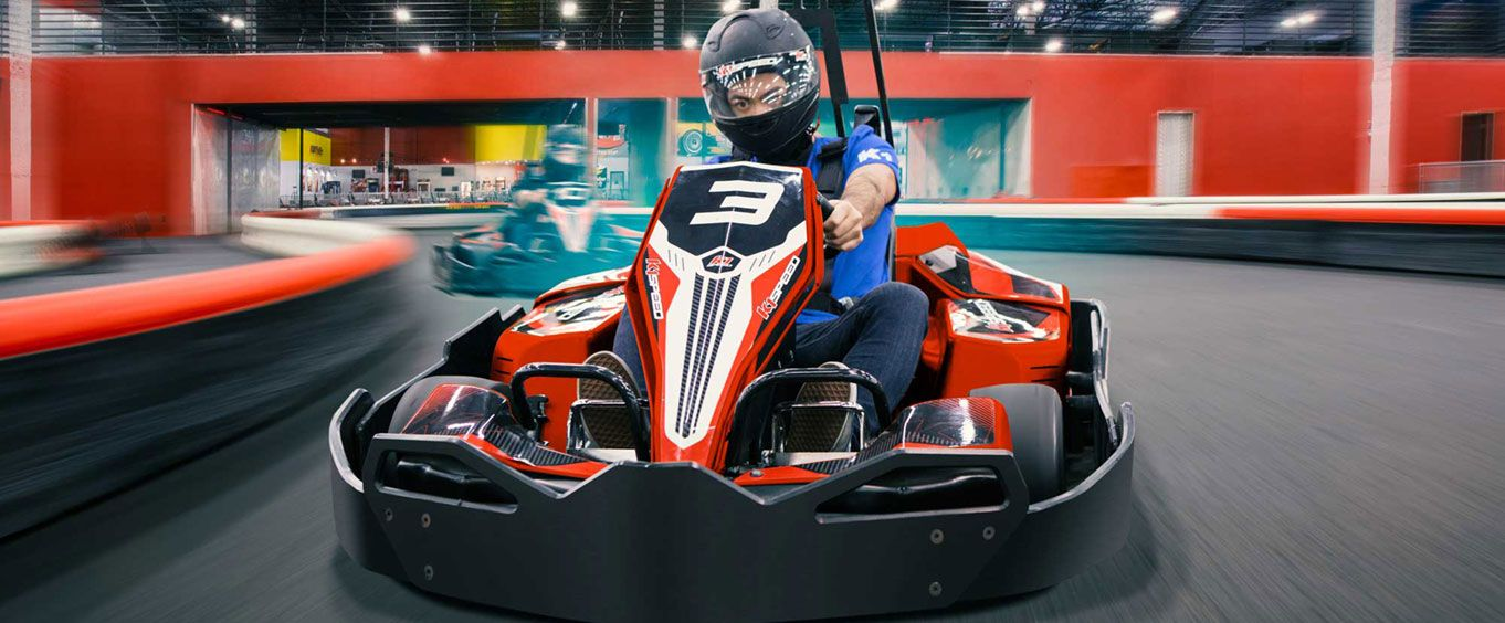 Race at K1 Speed Fort Lauderdale