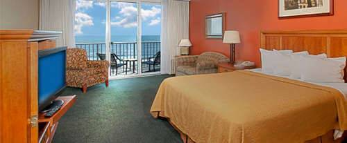 Photo of Quality Inn & Suites Beachfront Room