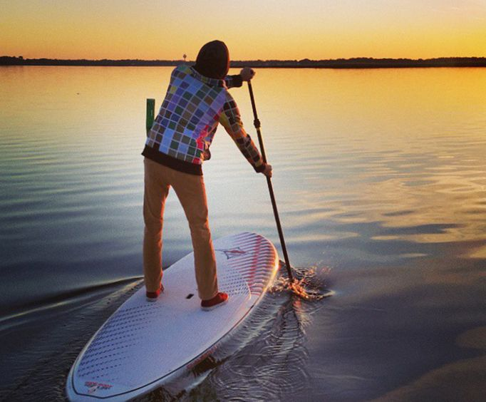 Sunset with the Outer Banks Paddleboard Rental