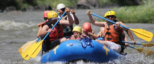 Orilla Verde Whitewater Float