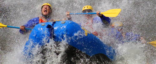 Rafting the Razorblades in Santa Fe, New Mexico