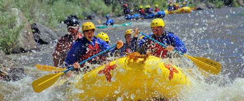 Whitewater Rafting The Racecourse in Santa Fe, New Mexico
