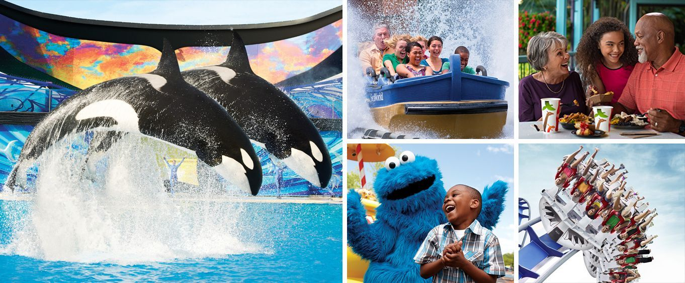 Enjoy SeaWorld San Antonio