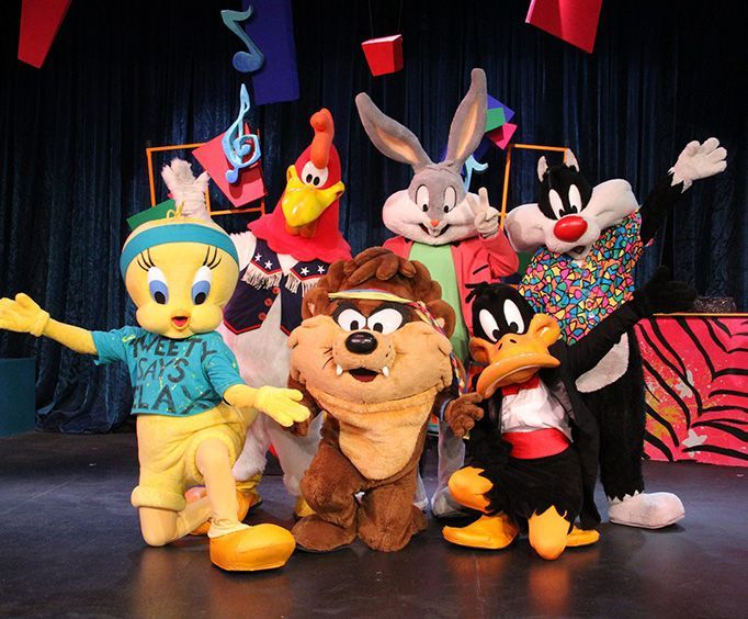 Looney Toons at Six Flags Fiesta Texas