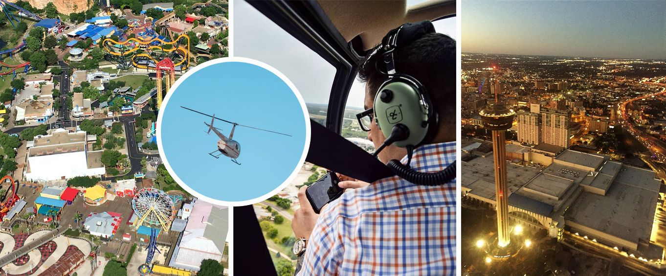 Enjoy the San Antonio Alamo Helicopter Tours