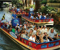 Rio San Antonio River Walk Cruises, rafting tour