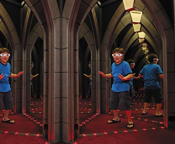 The Amazing Mirror Maze Amp The Vault Laser Challenge