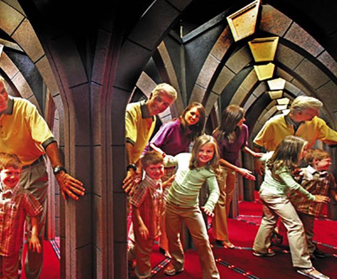 Buy The Amazing Mirror Maze Amp The Vault Laser Challenge