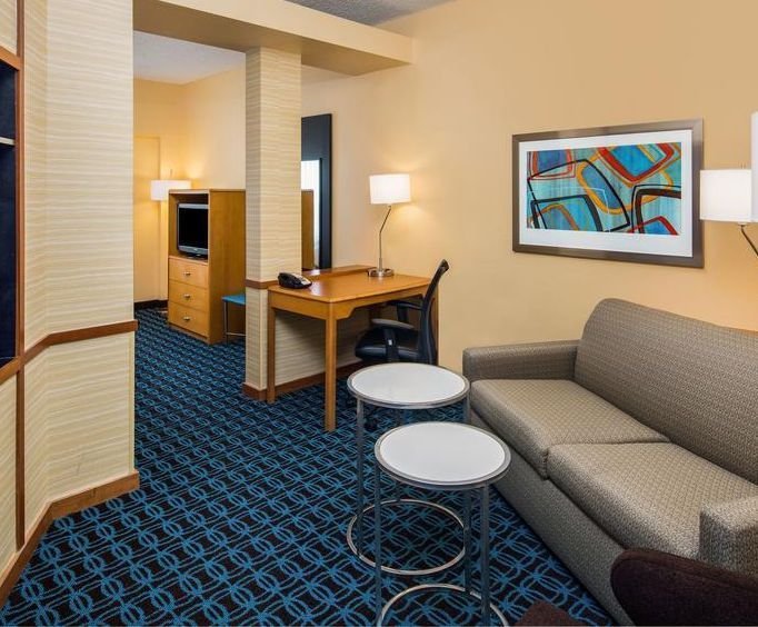 Photo of Fairfield Inn  Suites AirportNorth Star Mall Room