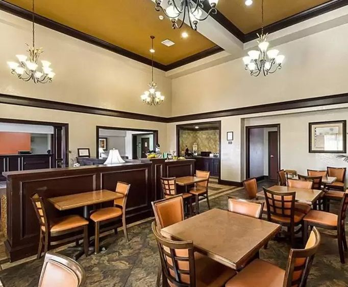 SureStay Plus Hotel by Best Western San Antonio North Dining Photo