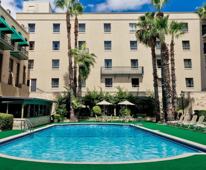 Outdoor Pool at The Menger Hotel