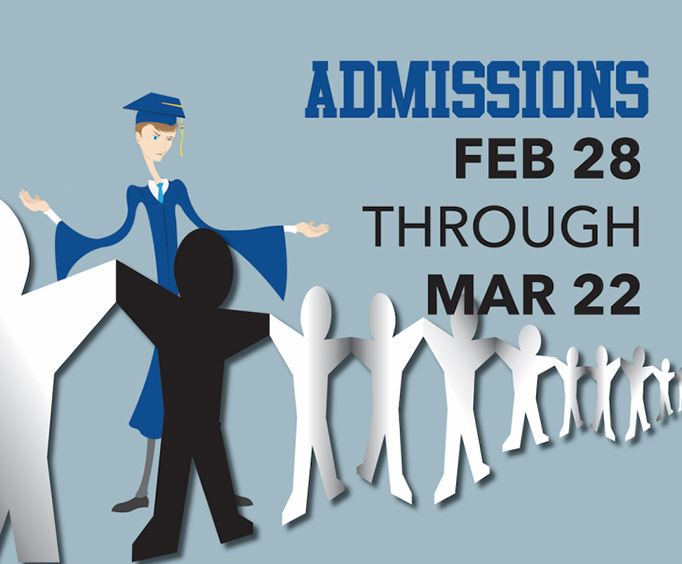 Admissions at Cellar Theater