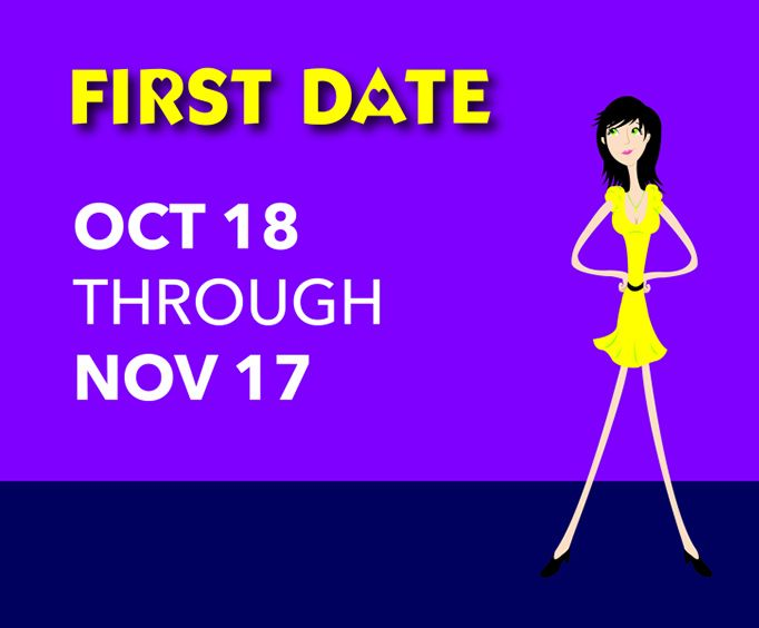 First Date at Cellar Theater