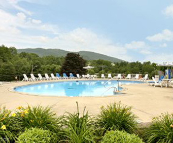 Outdoor Pool at Best Western of Lake George