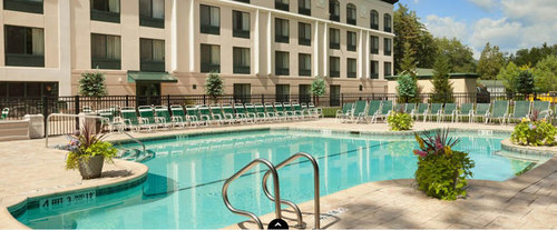 Outdoor Swimming Pool of Wingate by Wyndham Lake George