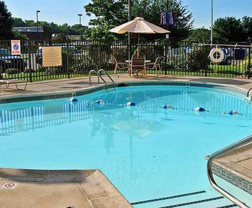 Outdoor Pool at Hampton Inn West-Springfield