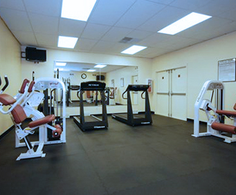 Fitness Center at Quality Inn McGuire AFB