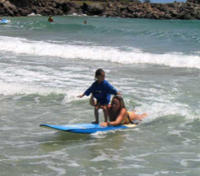 Private Kauai Learn to Surf Lesson