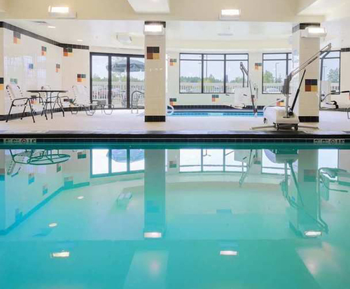 Hilton Garden Inn Anchorage Indoor Pool