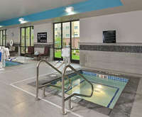 Hampton Inn and Suites Des Moines Downtown, Ia Indoor Swimming Pool