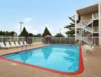 Outdoor Pool at Days Inn Des Moines-West Clive