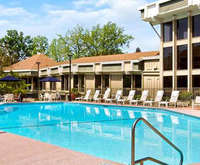 Outdoor Pool at Doubletree Hotel Sacramento