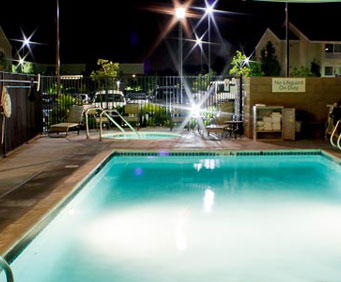 Outdoor Pool at TownePlace Suites Marriott Cal Expo