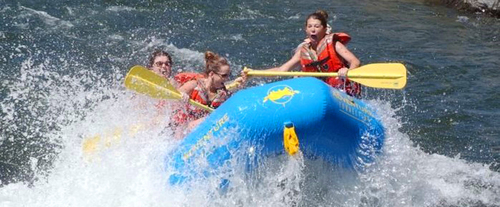 Rafting South Fork
