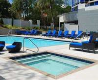 Outdoor Pool at Four Points by Sheraton Tallahassee Downtown