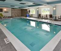 Comfort Inn & Suites South 6th Street Springfield Indoor Swimming Pool