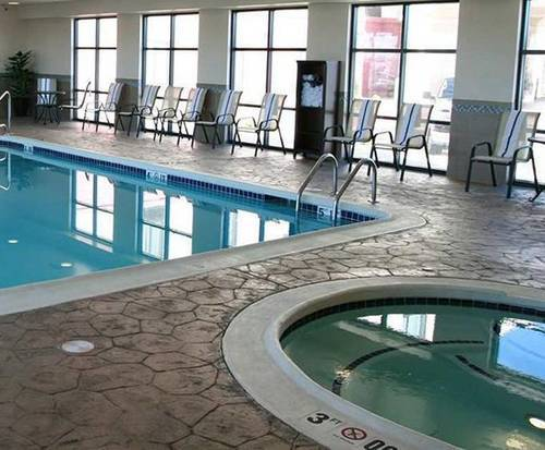 Hampton Inn Topeka Indoor Pool