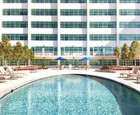 Outdoor Pool at Hilton Baton Rouge Capitol Center