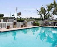 Outdoor Swimming Pool of Quality Inn & Suites Bossier City LA