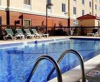 Outdoor Pool at Hampton Inn Shreveport Airport, La