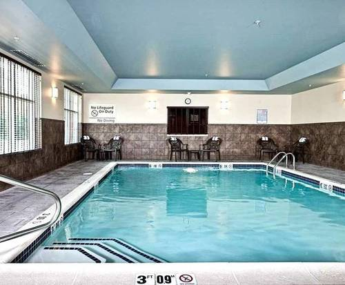 Hampton Inn Augusta, Me Indoor Pool